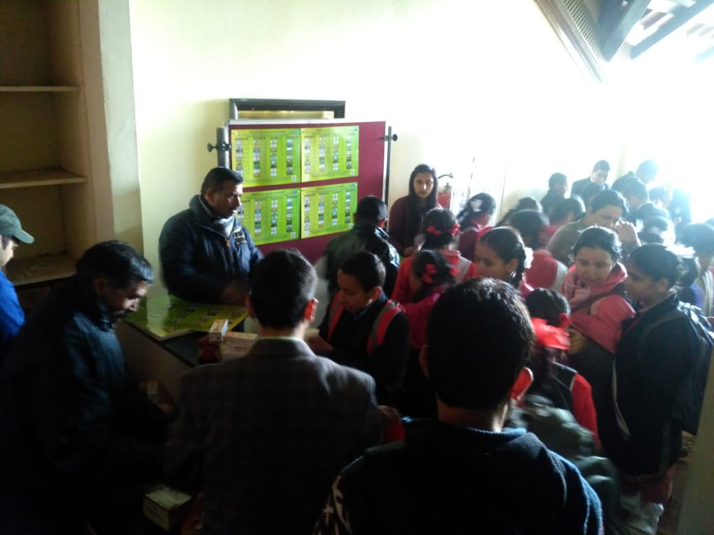 HP ENVIS Hub, Shimla Activity During National Science Day 2019